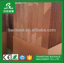 Cooling pad / wet curtain for poultry house