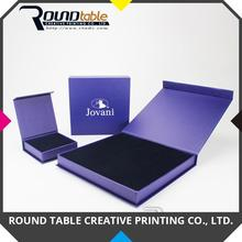 2017 Fashionable Jewelry Gift paper box Customized for Art Craft package