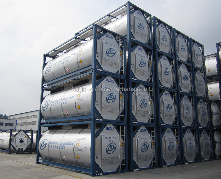 baijin ISO Tank <strong>container</strong> T11 All type dangerous chemical transport