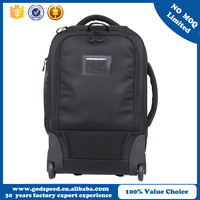 New design professional black waterproof camera trolley bag