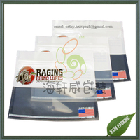 printed customized soft plastic bait bags for fishing