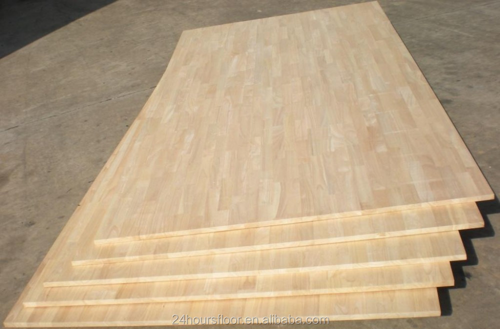 Hot sale Rubberwood Timber Good Quality Finger Jointed Board