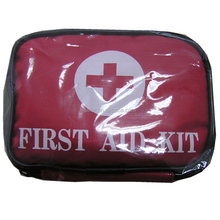 Road Trip First Aid Kit 12.5X9X5CM Red Bag Packed