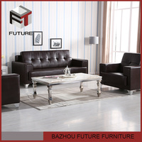 Top quality leather furniture brands unique design living room sofa