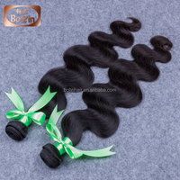 a bundle of hair bundle braids on weft micro beads weft hair extensions