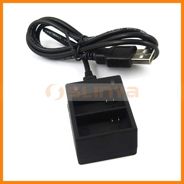 Professional Camera Accessories Battery Charger for GoPro Hero 3
