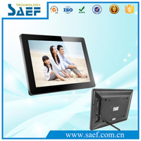 "digital picture frame 15 inch led screen digital photo frame lcd screen 15"" hd ad player"