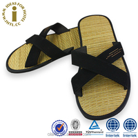 2015 Hotel Fashion Indoor Bamboo Chinese Slippers