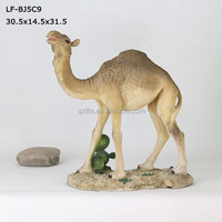 resin nativity camel statues decorations