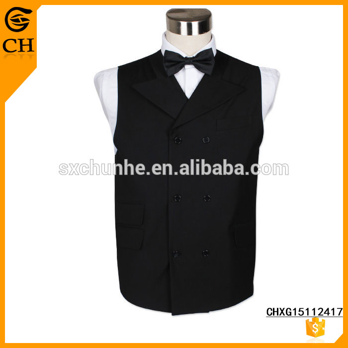 New Collection Hand Made ODM Custom vest formal wear for men