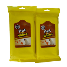 Pets Product Biodegradable Bamboo Green Tea Pet Cleaning Wet Wipes