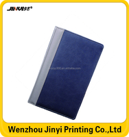 cheap bulk blank leather notebook for business