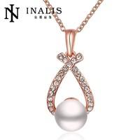 Popular Rhinestone Crystal Artificial Pearl Ladies Wholesale Chinese Costume Jewellery