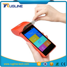Wireless Android handheld pos terminal with barcode scanner
