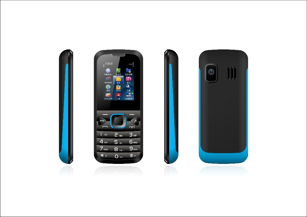 Mobile Phone Manufacturer 1.77inch 0.08MP Camera 32MB+32MB Spreadtrum6531 G05 Support Whatsapp