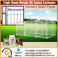 3.6m Triple Room Heavy Duty Animal Enclosure Fencing outdoor Dog Space Kennel