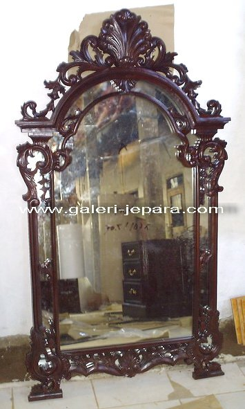 Wooden Wall Mirror - Mirror Decorative Furniture - Antique Reproduction Mirror