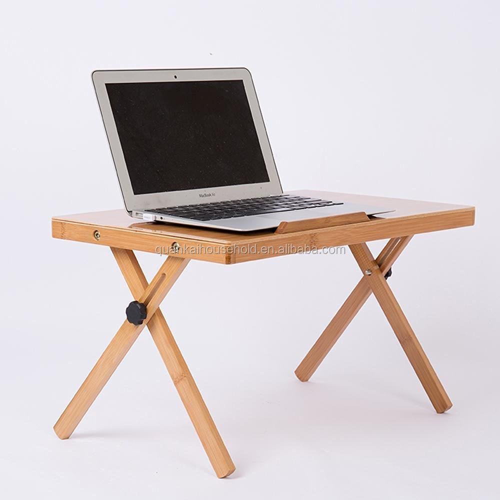 Wood Laptop Desk Computer Simple Desk The Hostel Lazy Folding Desk