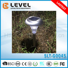 Outdoor Garden Stainless Steel LED Solar Path Landscape Light Lamp Lawn