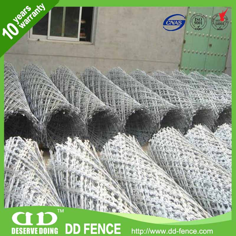 Cross Type Barbed Wire / Wire Razor