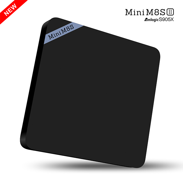 1CHIP Mini M8s II Android 6.0 TV Box 2GB 8GB android tv box with skype camera