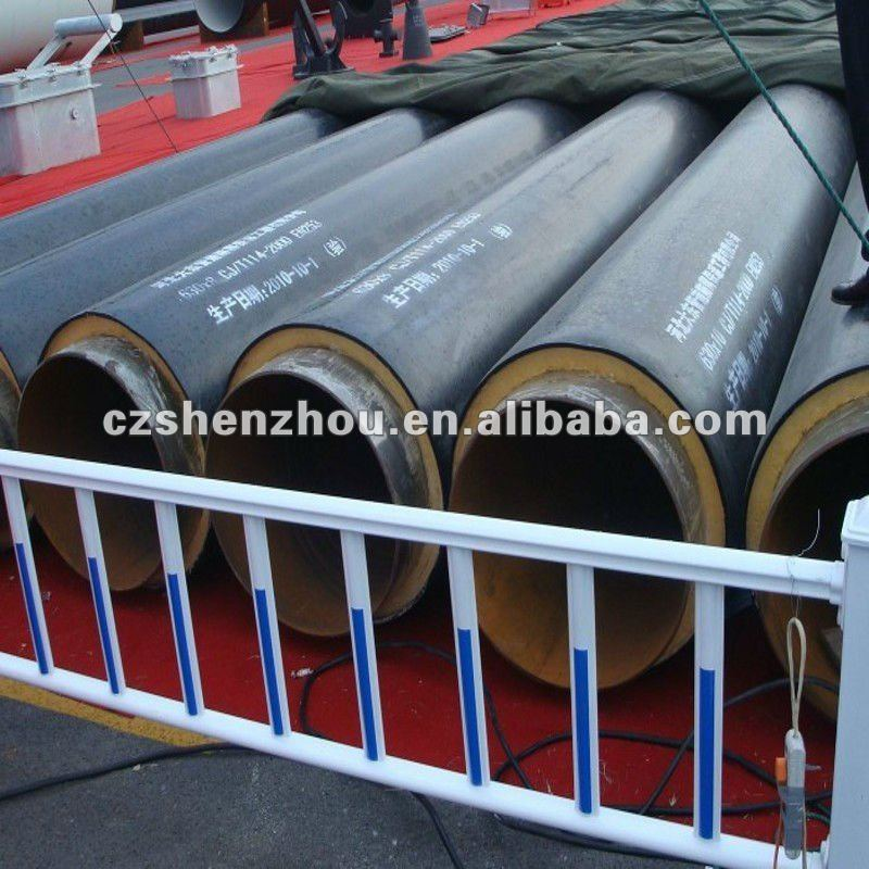 API 5L SAW Hot Water Insulation Steel Pipe