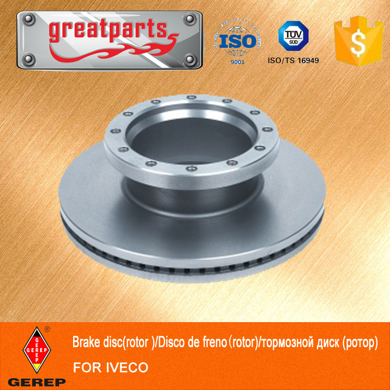 Hot Auto Parts brake disc for IVECO truck disc brake rotor 1906461/1906438