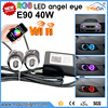 E90 E91 Led Angel eyes LED Markers white 10W with high lumen for bmw car light led headlight