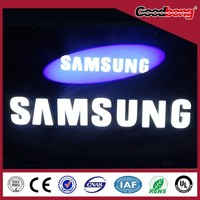 Bobang Customized acrylic LED letter used for outdoor sign
