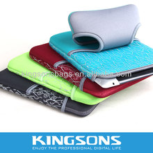 Neoprene Laptop Case For Ipad Sleeve For Tablet PC Sleeve Accept 3D Printing