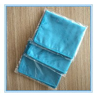 Individual pack microfiber cleaning cloth