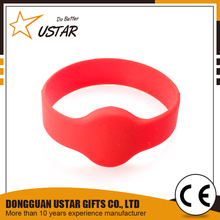 High Quality Waterproof 13.56MHz nfc Bracelet Silicone Rfid Wristband