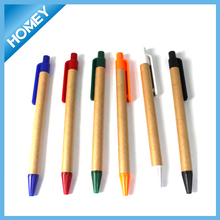 Eco friendly recycled paper ball pen