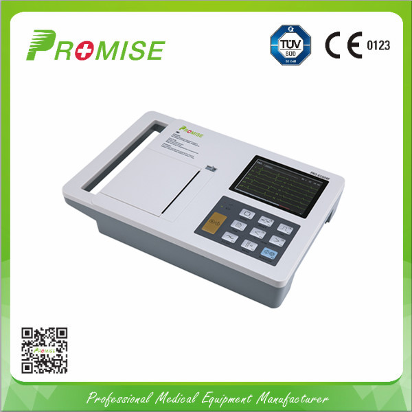 ECG machine for diagnosis with complete information data system