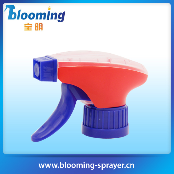 2015 high quality gardening child resistant plastic finger pump spray