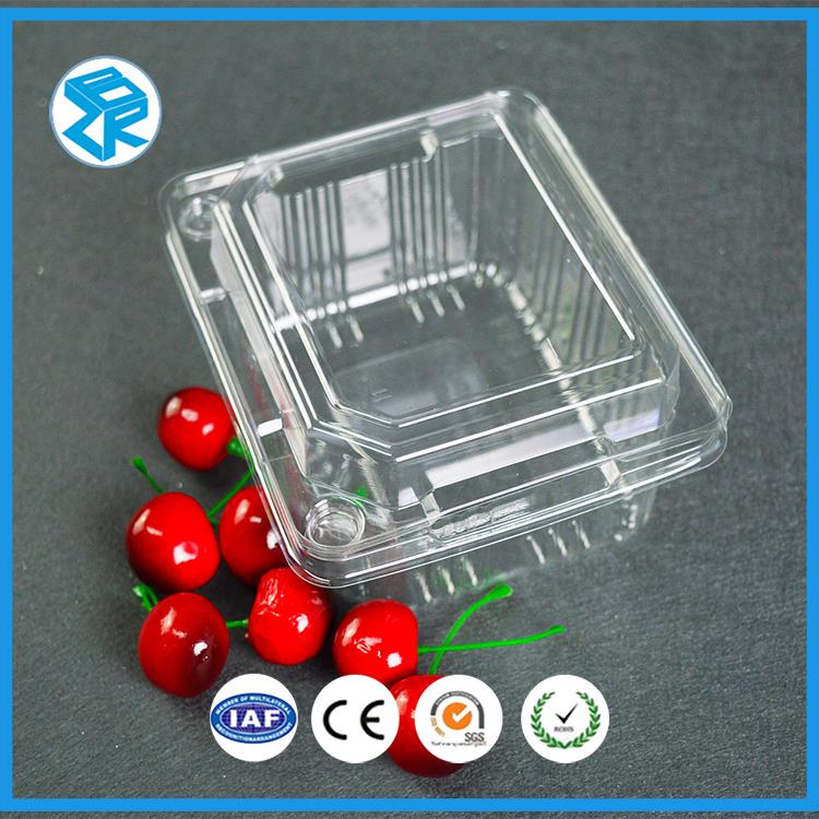 Low price dispoable fruit vegetable blister container and box
