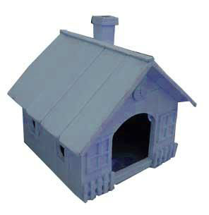 Pet wood house