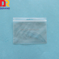 LDPE Plastic Zipper Packaging Bag With Euro Hole