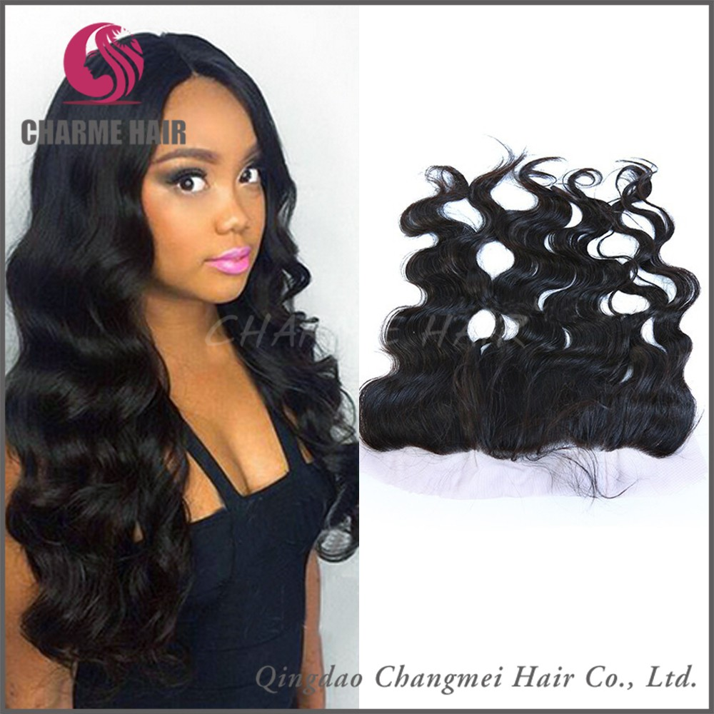 2016 Best Selling Wholesale Factory Price Professional Peruvian Lace Front Closure
