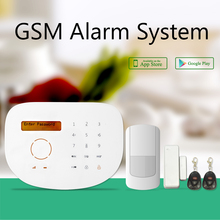 Smart home GSM alarm system for house security, GSM alarm support sensor low voltage alert & Z-wave customized