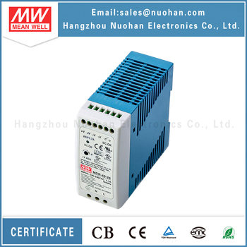 Mean Well MDR-40-24 40w power supply Industrial 40W 24V DIN Rail Power Supply