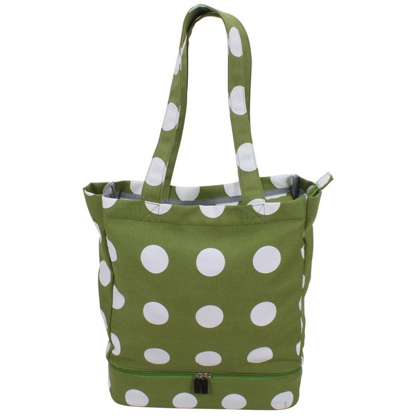 Tote Bag For The Beach JN 2353E 2-in-1 Tote for Women Beach Tote Bag with Insulated Picnic cooler