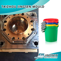 Plastic Barrel/bucket Injection Mould,plastic paint/water/fishing/laundry bucket mould made in China