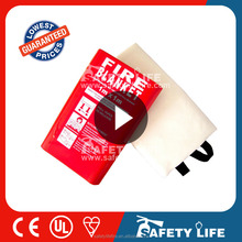 Fire resistant Fiberglass Silicon Coated Fire blanket