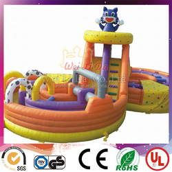 Most popular inflatable wipeout sport games