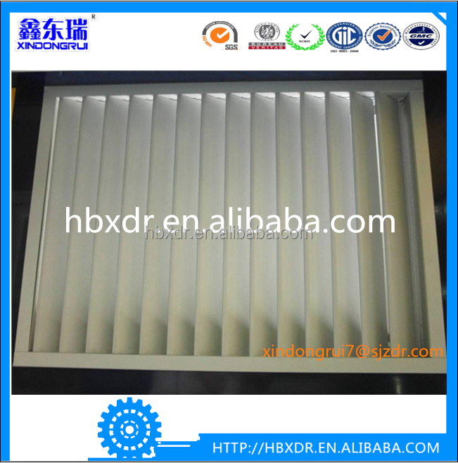 Professional clean aluminium venetian blinds frame in the double glass
