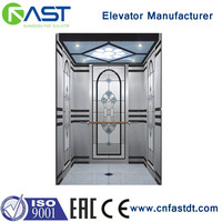 Safe residential home passenger elevator lift