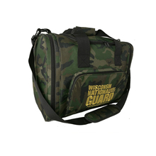 Wholesale young sports camo travel duffel gym bag