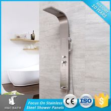 Latest Product Of China Easy To Use Stanitary Ware Wall Mounted Shower Panel