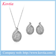 Fashionable silver jewelry, wholesale jewelry set hot products ,quick sourcing